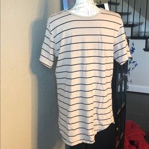Pacsun Men's tan with black stripes size med